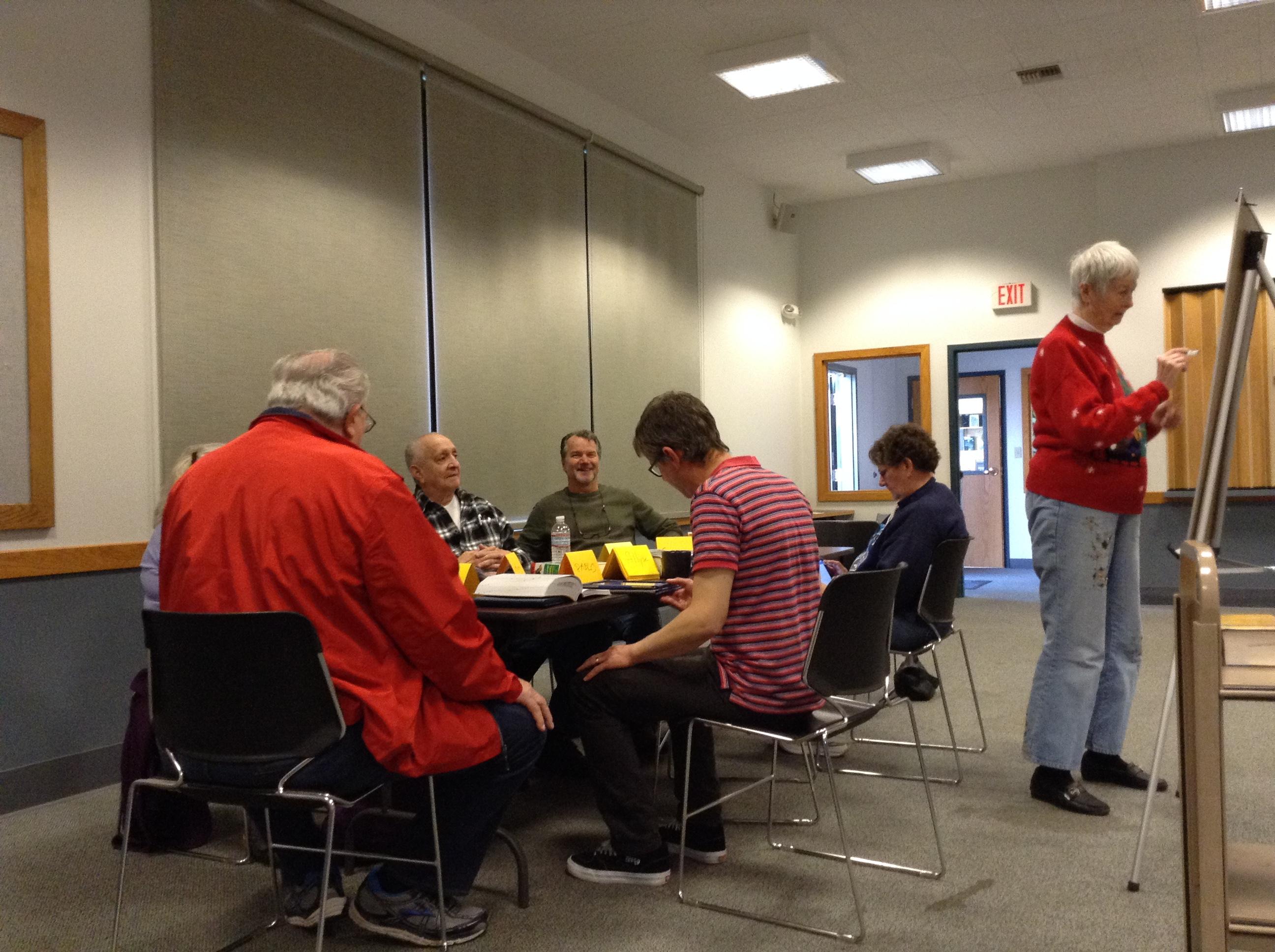Pic of Spanglish! group conversing