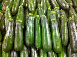 Satck of zucchini