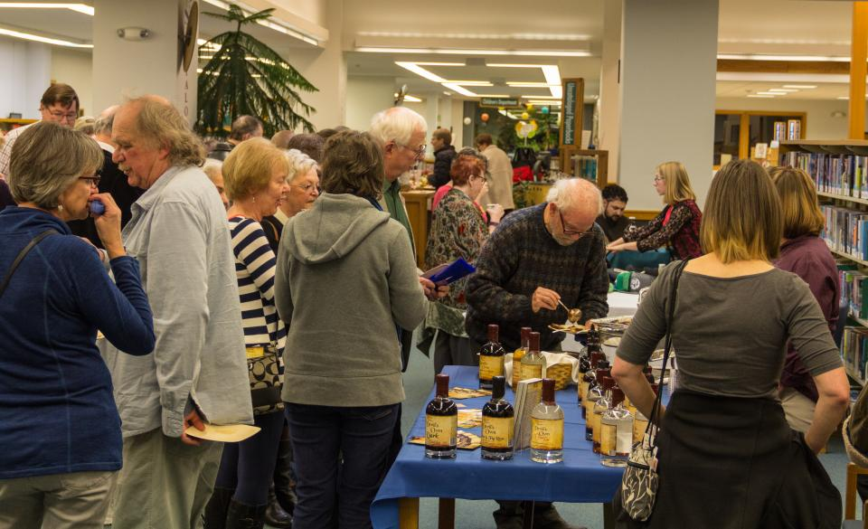 Coos Bay Public Library Foundation's After Hours at the Library 2017 event