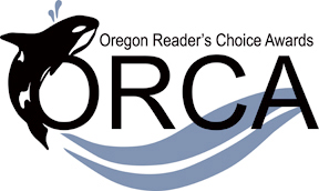 Oregon Reader's Choice Awards with ORCA whale logo